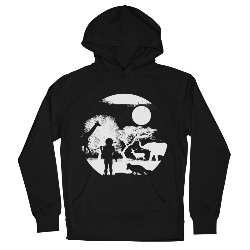NIGHT JOB Men's Pullover Hoody by luwes's Artist Shop