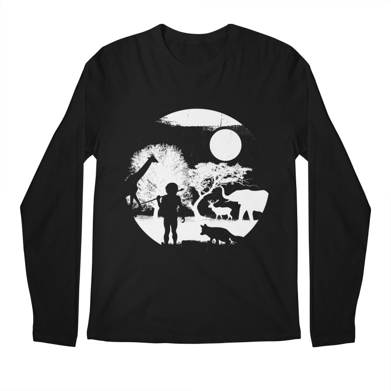NIGHT JOB Men's Longsleeve T-Shirt by luwes's Artist Shop