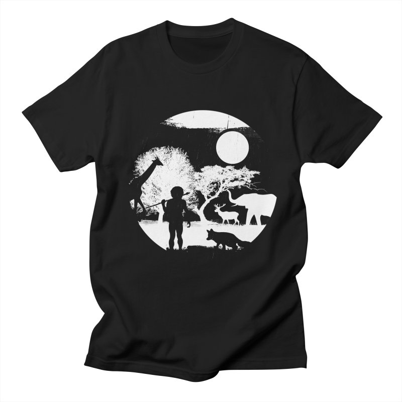 NIGHT JOB Men's T-Shirt by luwes's Artist Shop