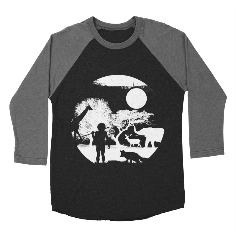 NIGHT JOB Men's Baseball Triblend T-Shirt by luwes's Artist Shop