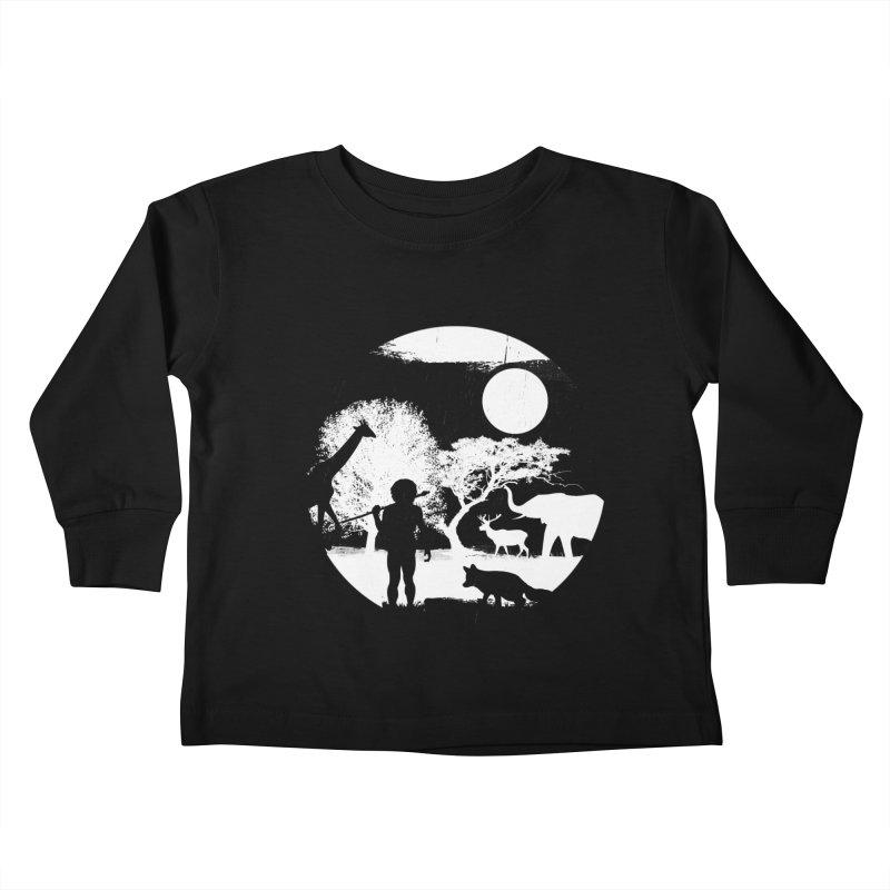NIGHT JOB Kids Toddler Longsleeve T-Shirt by luwes's Artist Shop