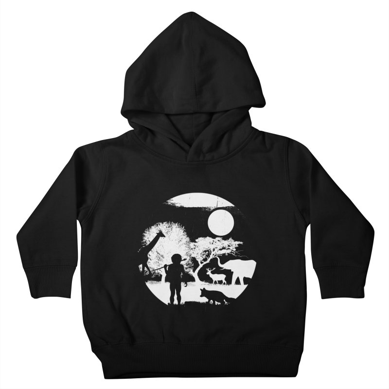 NIGHT JOB Kids Toddler Pullover Hoody by luwes's Artist Shop