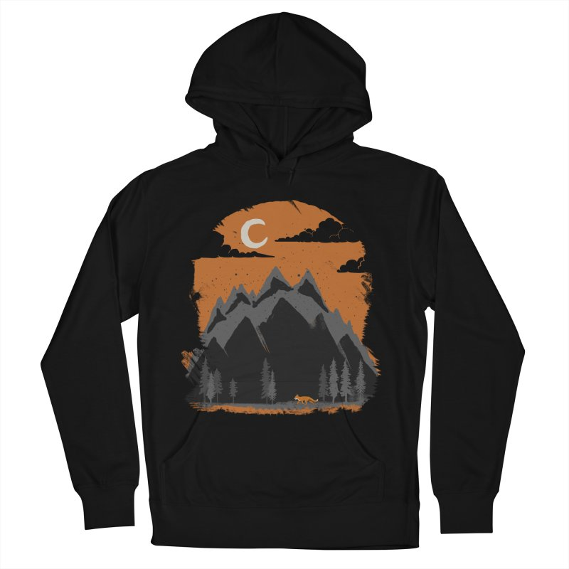 hunting Men's Pullover Hoody by luwes's Artist Shop