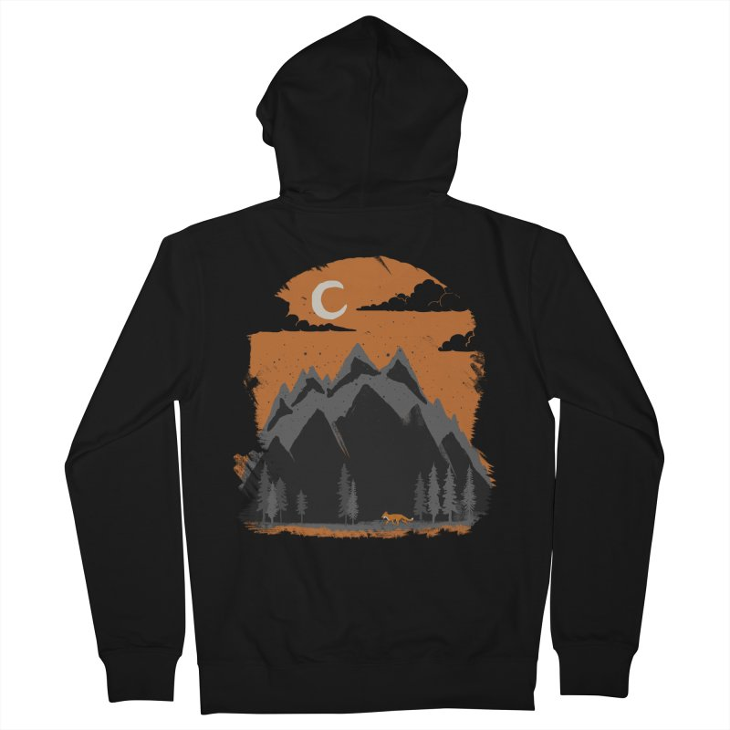 hunting Men's Zip-Up Hoody by luwes's Artist Shop