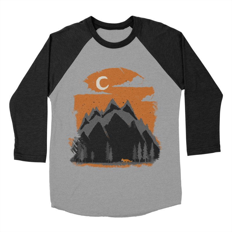 hunting Men's Baseball Triblend T-Shirt by luwes's Artist Shop
