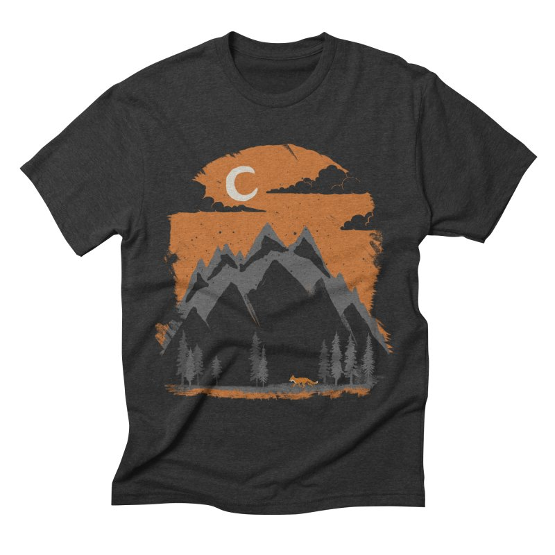 hunting Men's Triblend T-shirt by luwes's Artist Shop