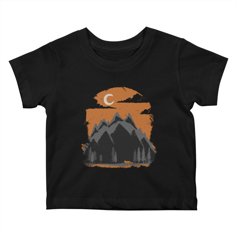 hunting Kids Baby T-Shirt by luwes's Artist Shop