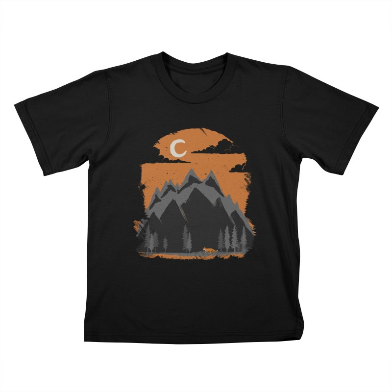 hunting Kids T-Shirt by luwes's Artist Shop