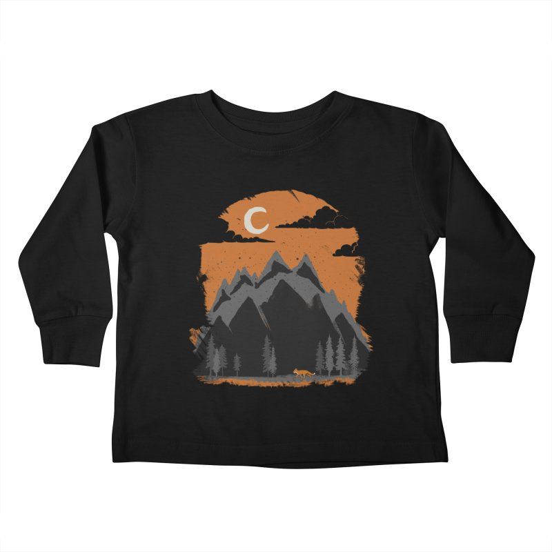 hunting Kids Toddler Longsleeve T-Shirt by luwes's Artist Shop