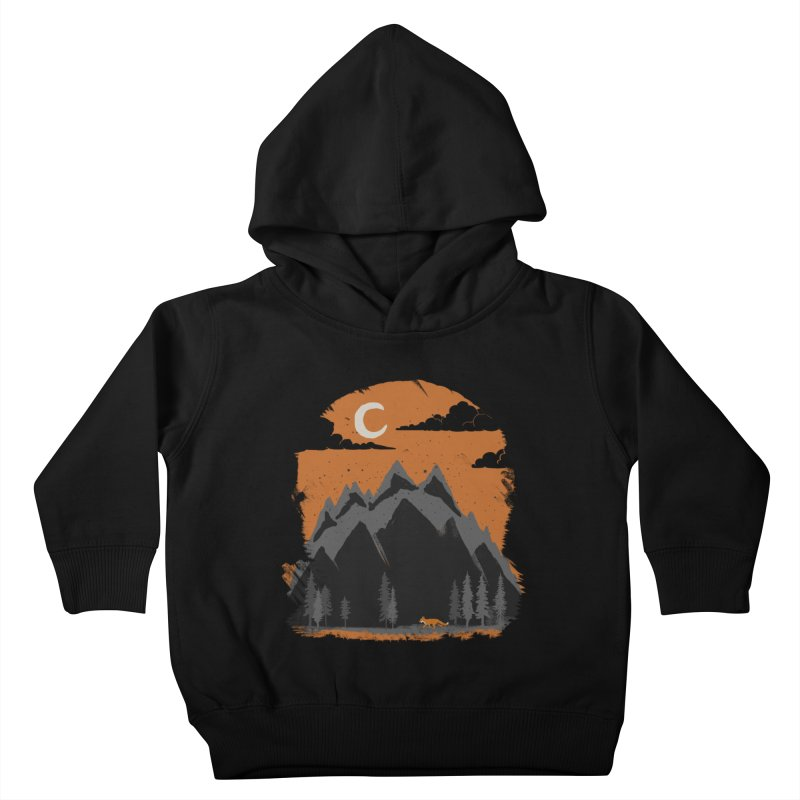hunting Kids Toddler Pullover Hoody by luwes's Artist Shop