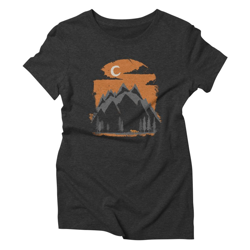 hunting Women's Triblend T-Shirt by luwes's Artist Shop