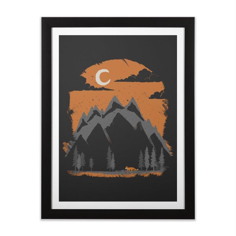 hunting Home Framed Fine Art Print by luwes's Artist Shop
