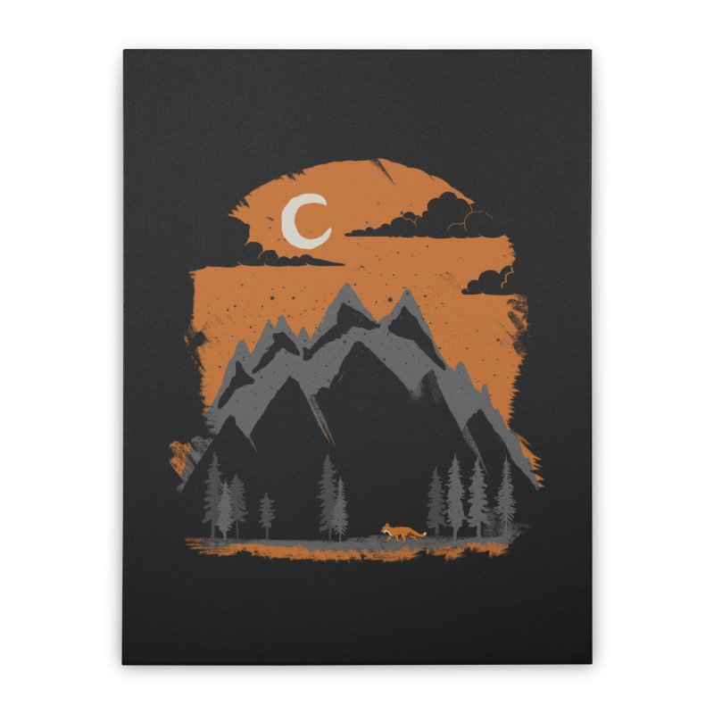 hunting Home Stretched Canvas by luwes's Artist Shop