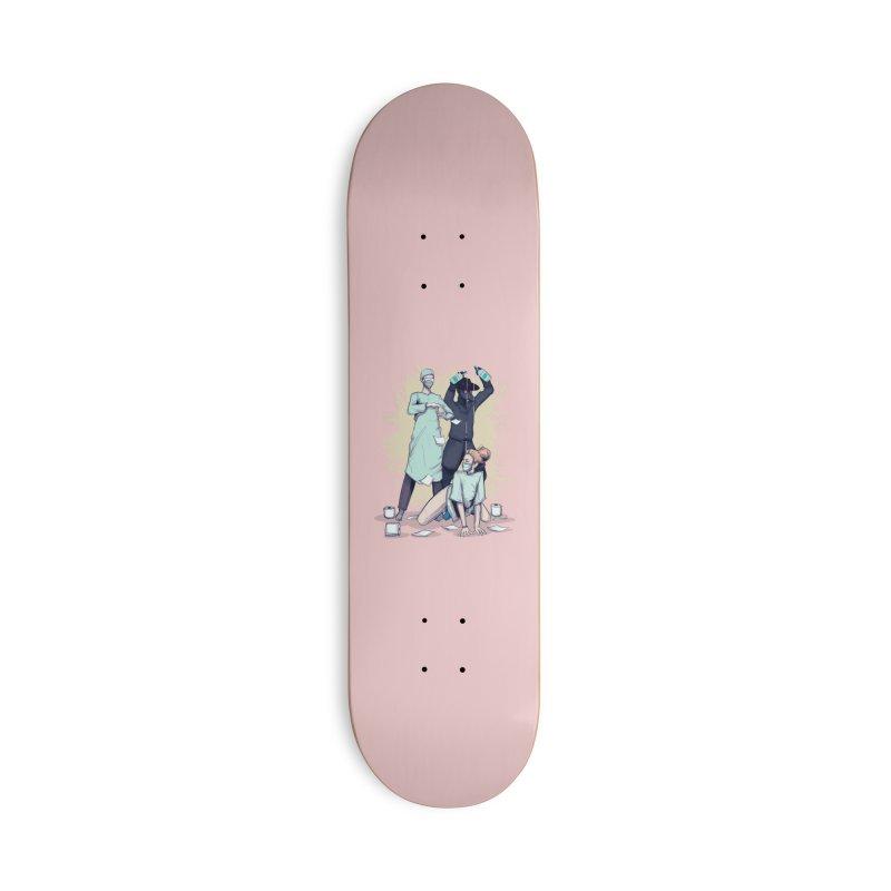 Sanitizer Accessories Skateboard by lvbart's Artist Shop