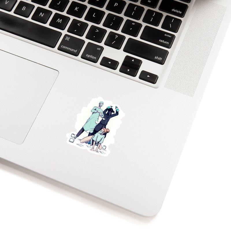 Sanitizer Accessories Sticker by lvbart's Artist Shop