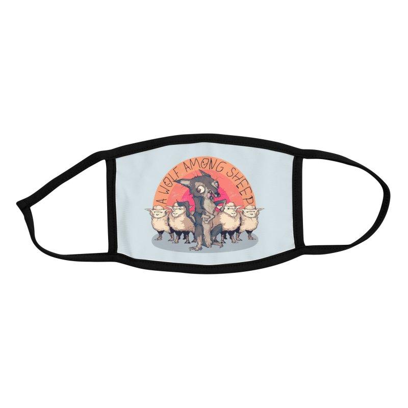 Alpha Dog Accessories Face Mask by lvbart's Artist Shop
