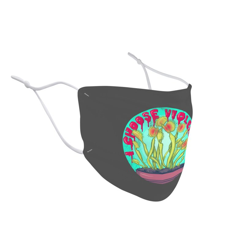 Venus Fly Trap Accessories Face Mask by lvbart's Artist Shop