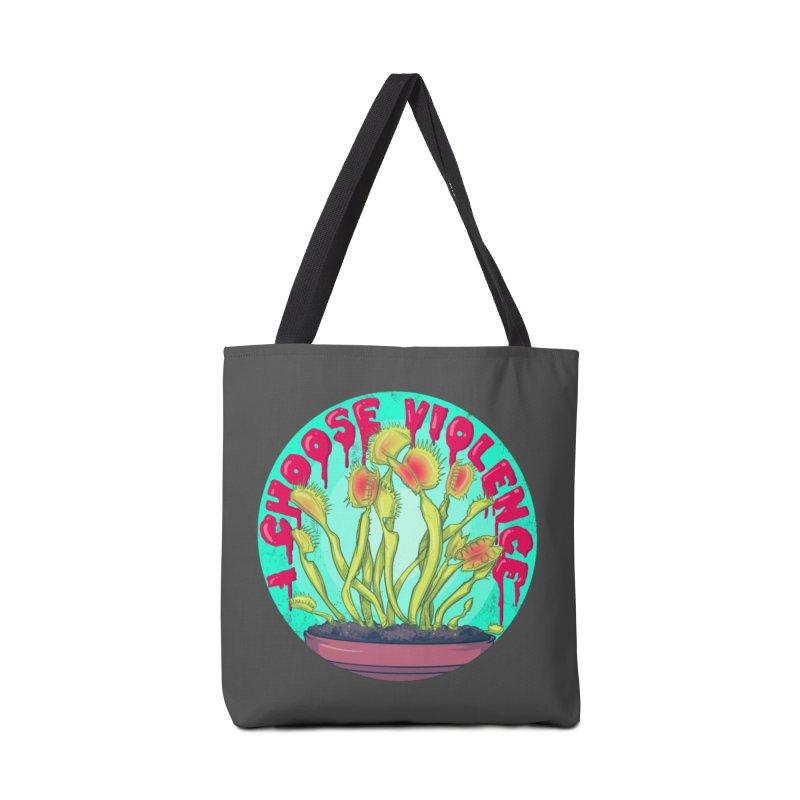 Venus Fly Trap Accessories Bag by lvbart's Artist Shop