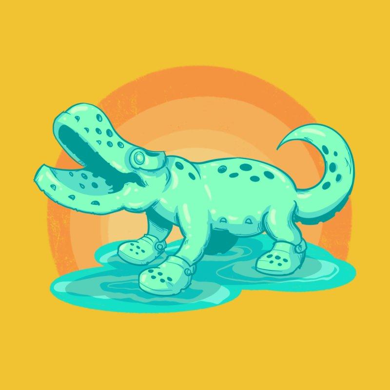 Croc Kids Toddler T-Shirt by lvbart's Artist Shop