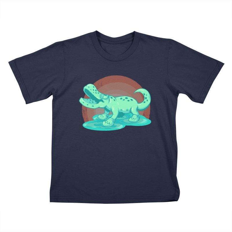 Croc Kids T-Shirt by lvbart's Artist Shop