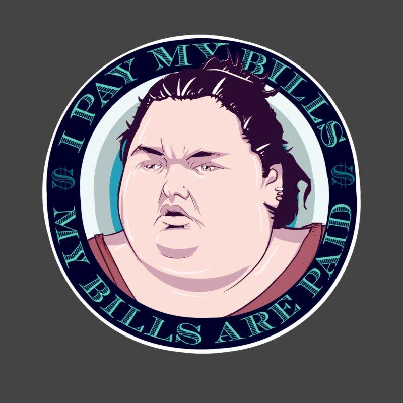 I Pay My Bills Kids T-Shirt by lvbart's Artist Shop