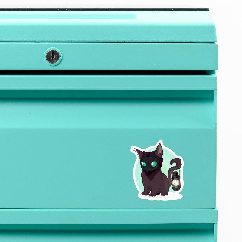 Plague Kitten Accessories Magnet by lvbart's Artist Shop