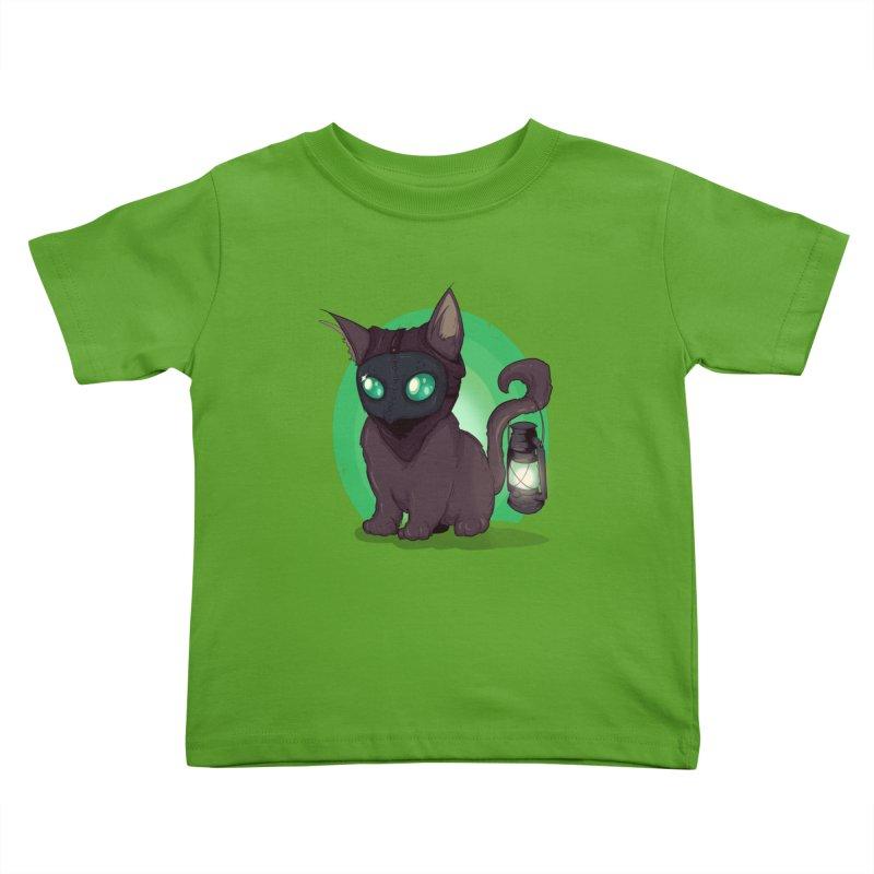 Plague Kitten Kids Toddler T-Shirt by lvbart's Artist Shop