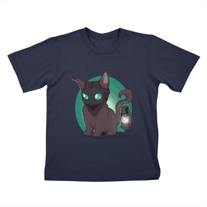 Plague Kitten Kids T-Shirt by lvbart's Artist Shop