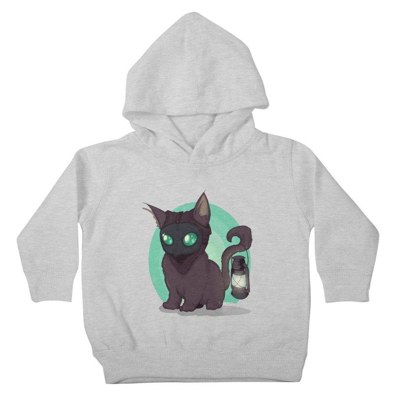 Plague Kitten Kids Toddler Pullover Hoody by lvbart's Artist Shop