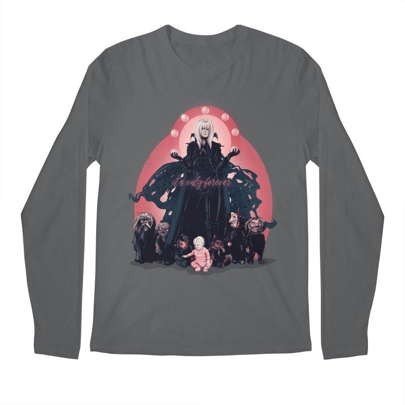It's Only Forever Men's Longsleeve T-Shirt by lvbart's Artist Shop
