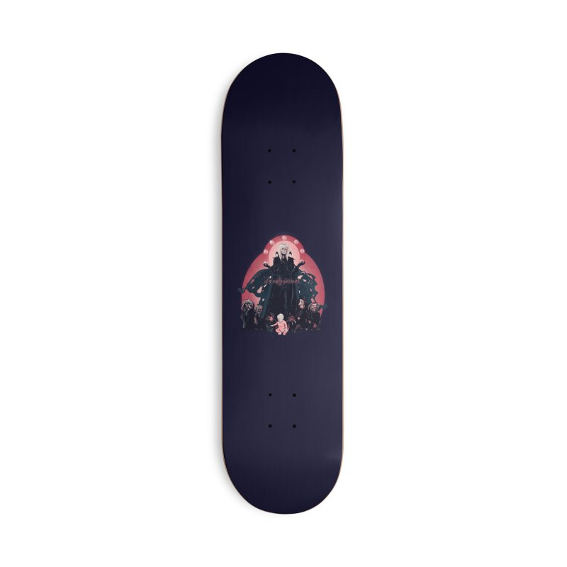 It's Only Forever Accessories Skateboard by lvbart's Artist Shop