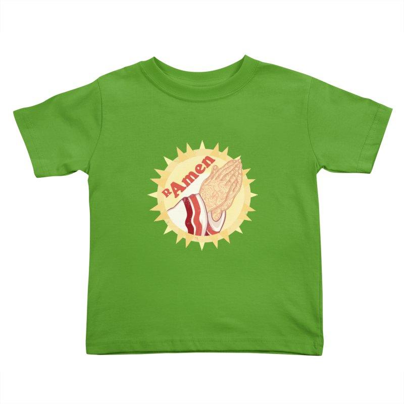 Ramen Kids Toddler T-Shirt by lvbart's Artist Shop