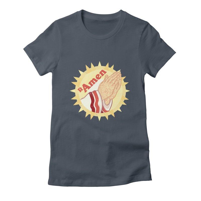Ramen Women's T-Shirt by lvbart's Artist Shop