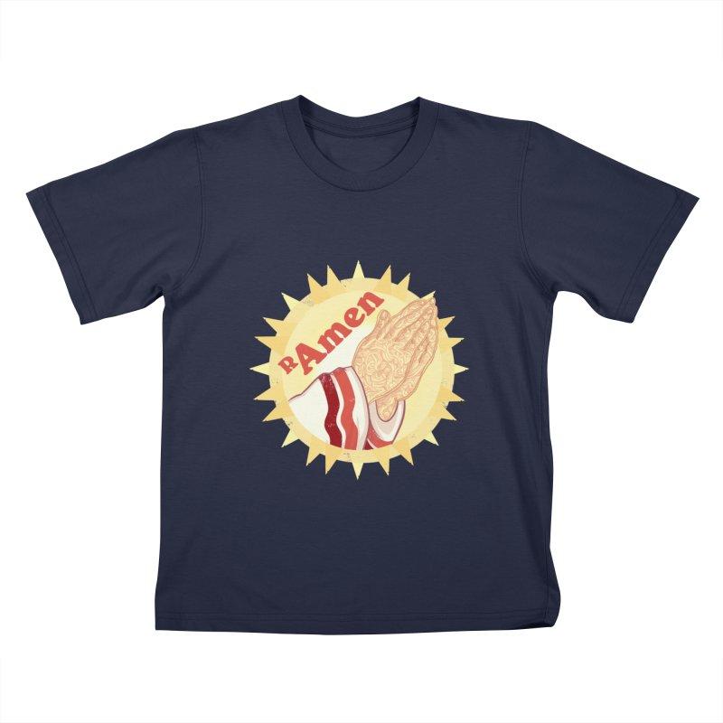 Ramen Kids T-Shirt by lvbart's Artist Shop