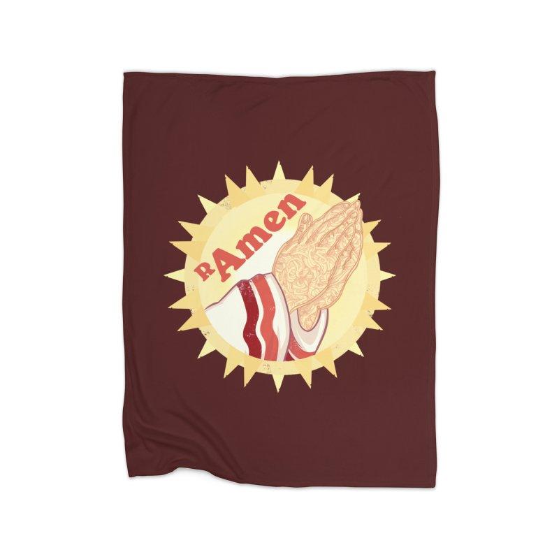 Ramen Home Blanket by lvbart's Artist Shop