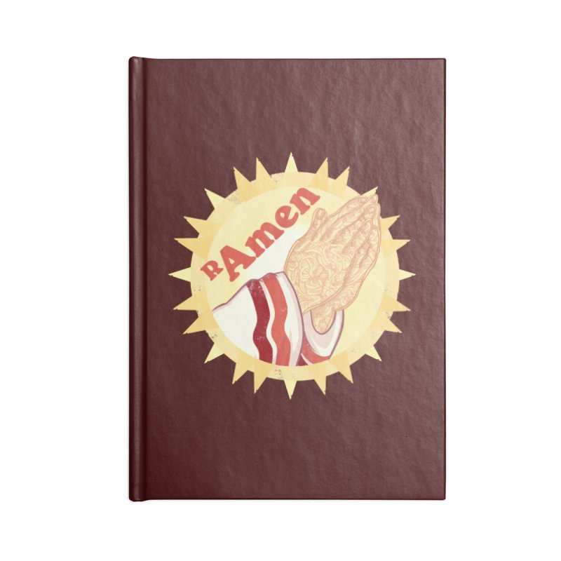 Ramen Accessories Notebook by lvbart's Artist Shop