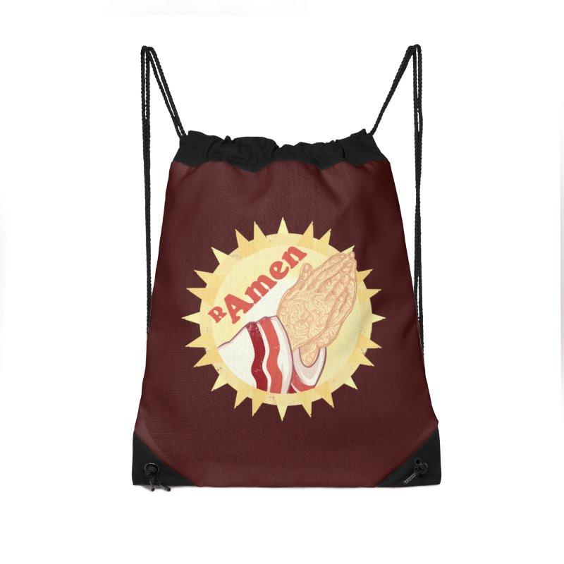 Ramen Accessories Bag by lvbart's Artist Shop