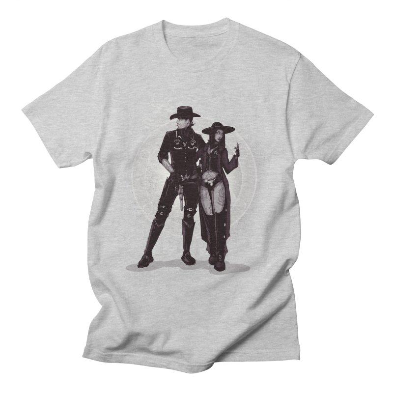 Outlaw Heart Men's T-Shirt by lvbart's Artist Shop