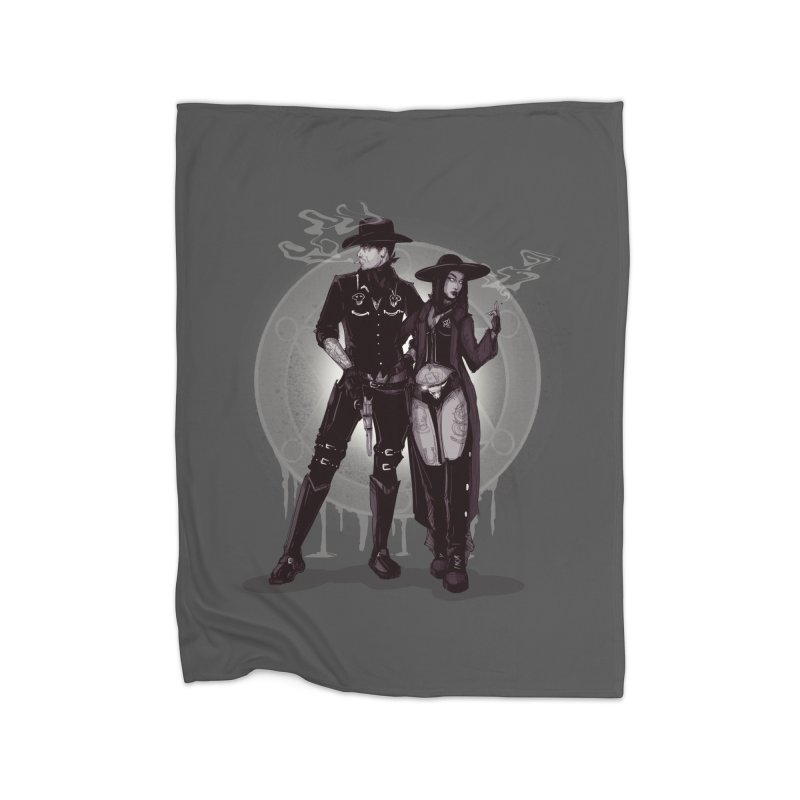 Outlaw Heart Home Blanket by lvbart's Artist Shop