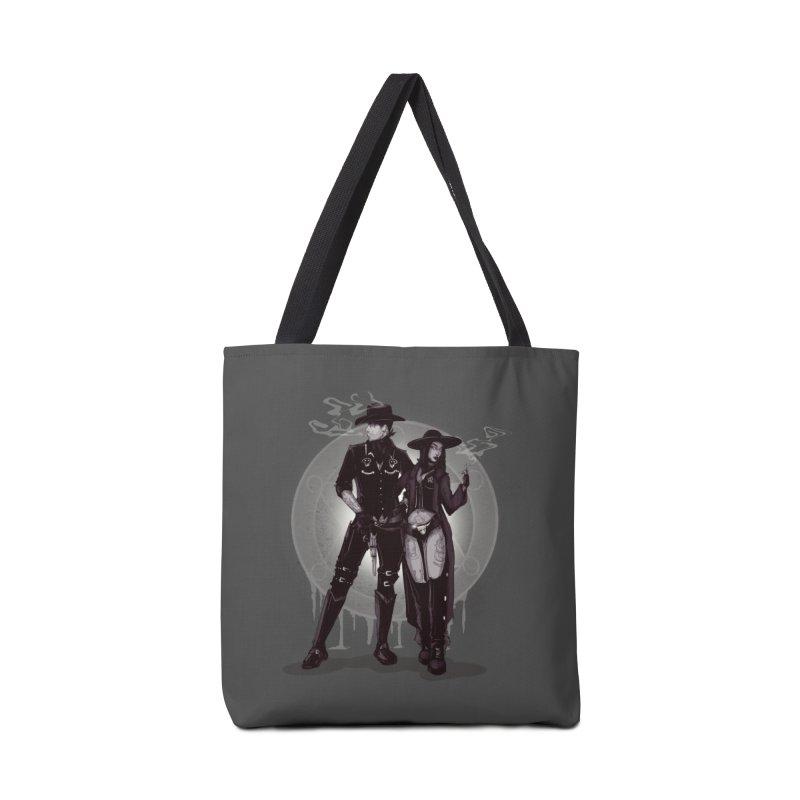 Outlaw Heart Accessories Bag by lvbart's Artist Shop
