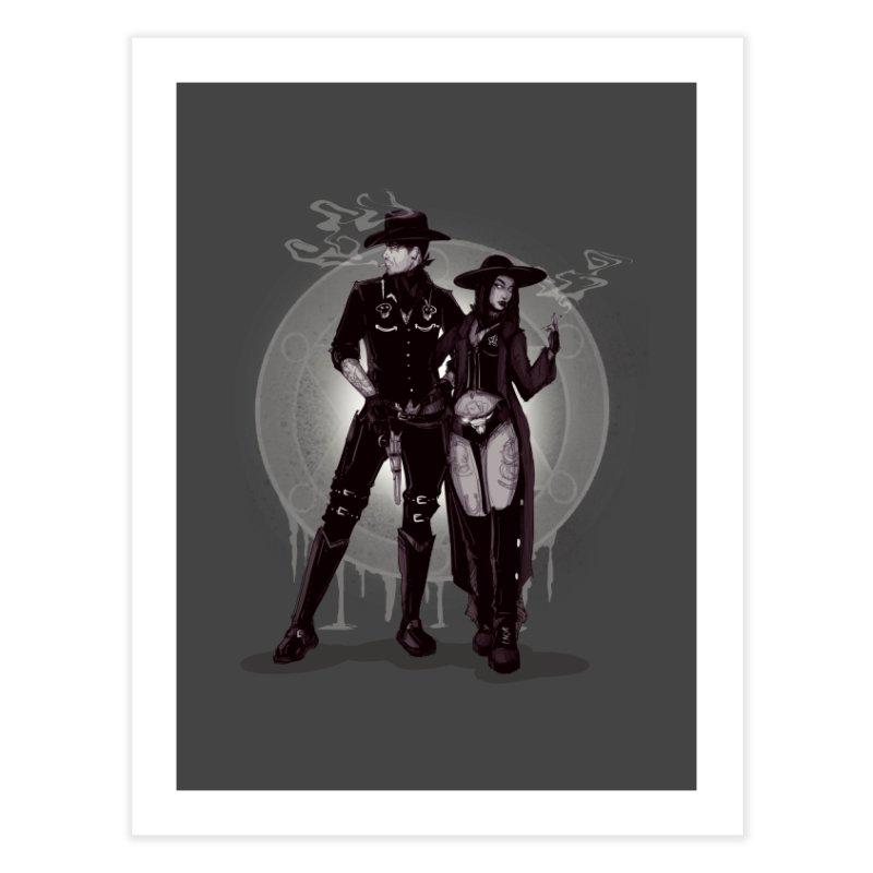 Outlaw Heart Home Fine Art Print by lvbart's Artist Shop