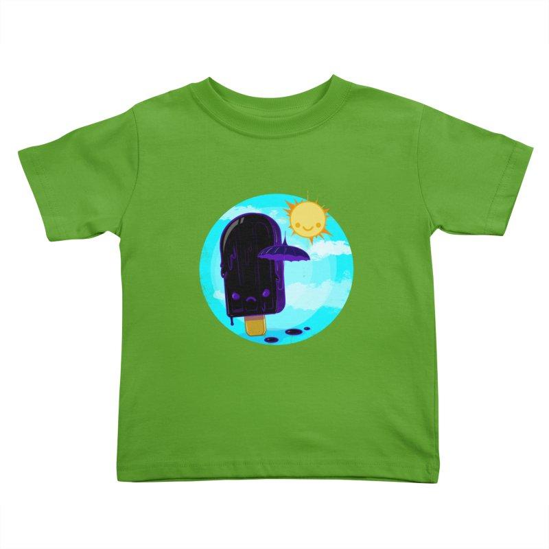 Gothsicle Kids Toddler T-Shirt by lvbart's Artist Shop
