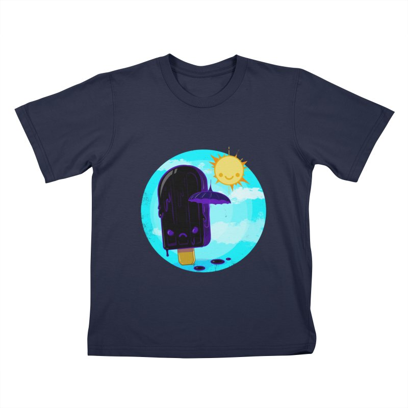 Gothsicle Kids T-Shirt by lvbart's Artist Shop