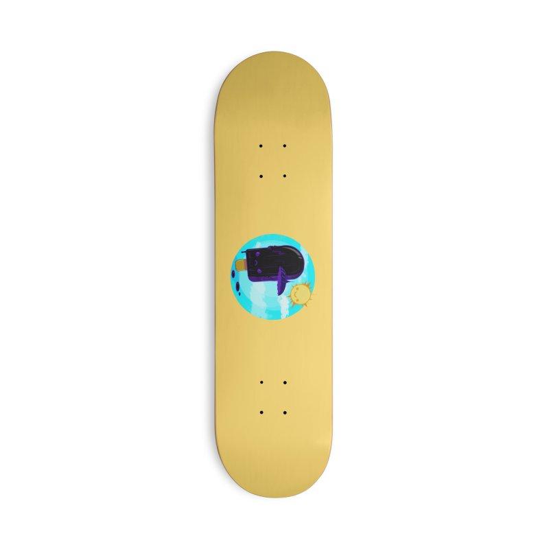 Gothsicle Accessories Skateboard by lvbart's Artist Shop