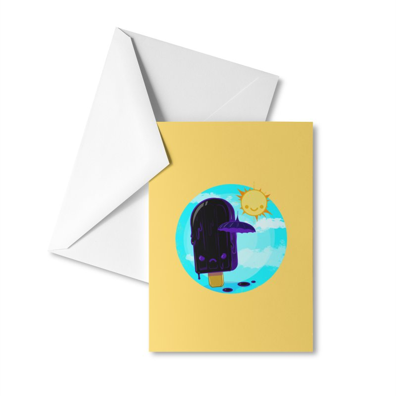 Gothsicle Accessories Greeting Card by lvbart's Artist Shop