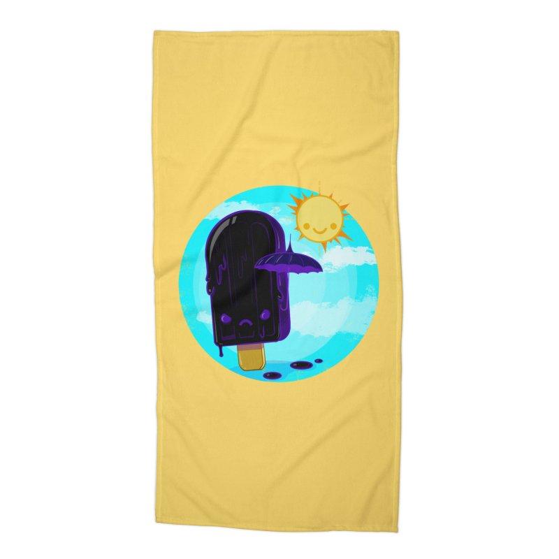 Gothsicle Accessories Beach Towel by lvbart's Artist Shop