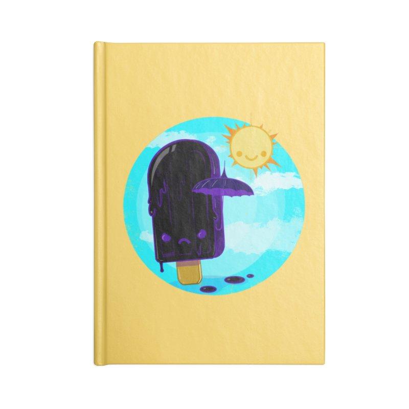 Gothsicle Accessories Notebook by lvbart's Artist Shop