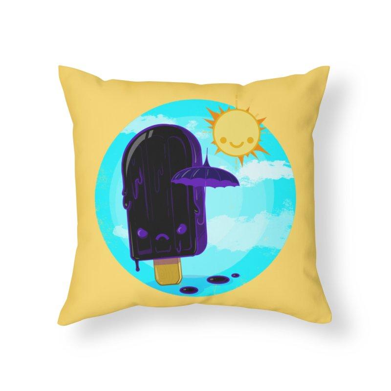 Gothsicle Home Throw Pillow by lvbart's Artist Shop