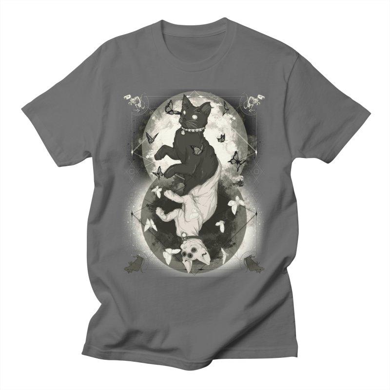 As Above So Below IV Men's T-Shirt by lvbart's Artist Shop