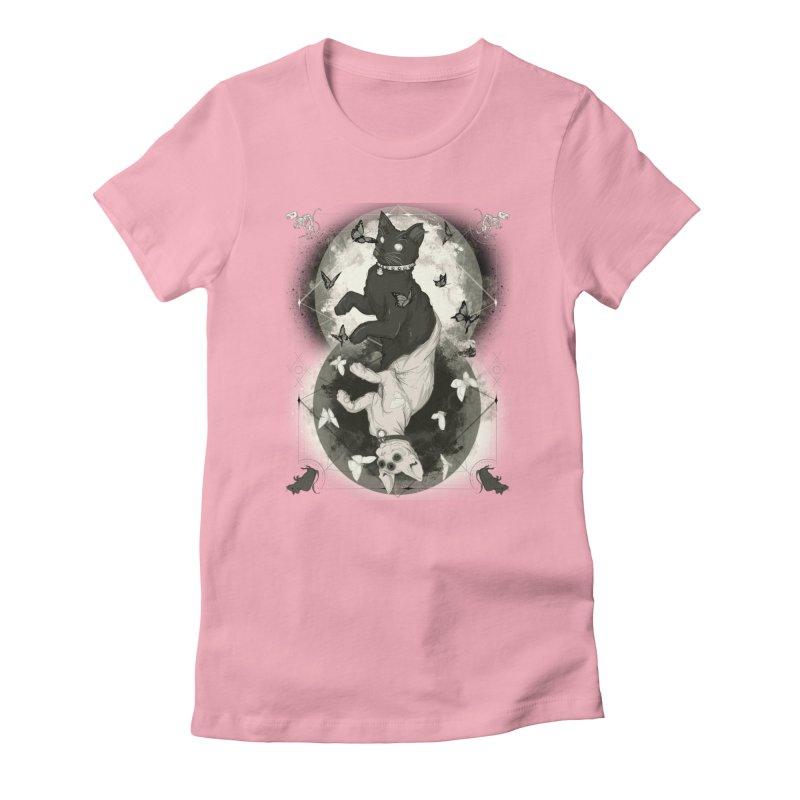 As Above So Below IV Women's T-Shirt by lvbart's Artist Shop
